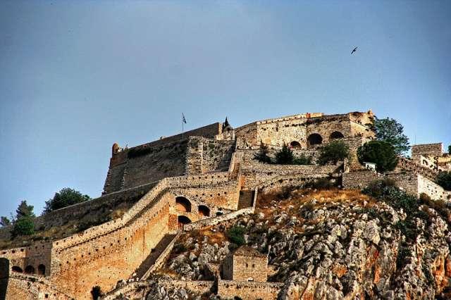 Παλαμήδι το φρούριο του Ναυπλίου