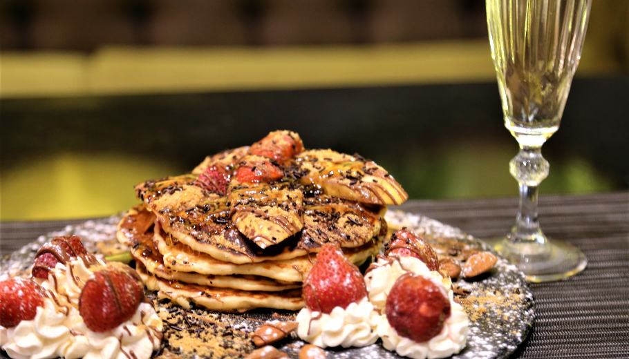 This is where you can taste the best pancakes in Nafplion!