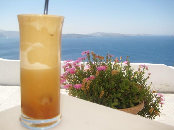 Greek... frappe, a whole philosophy!