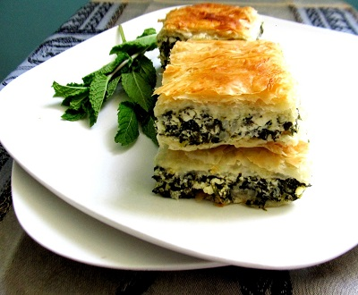 Original recipe for Greek Spanakopita. Try it!