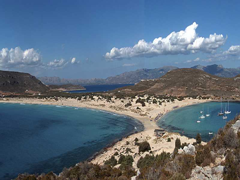 Simos Beach in Elafonisos