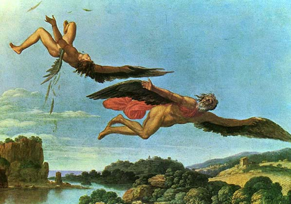 The fall of Icarus