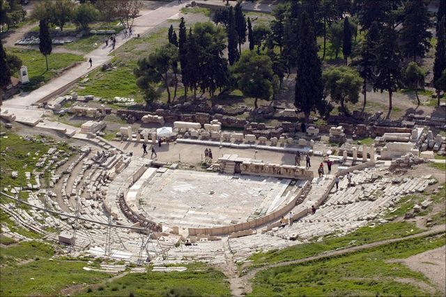 Theatre of Dionysus in Athens, open-air, Acropolis, Hill ...