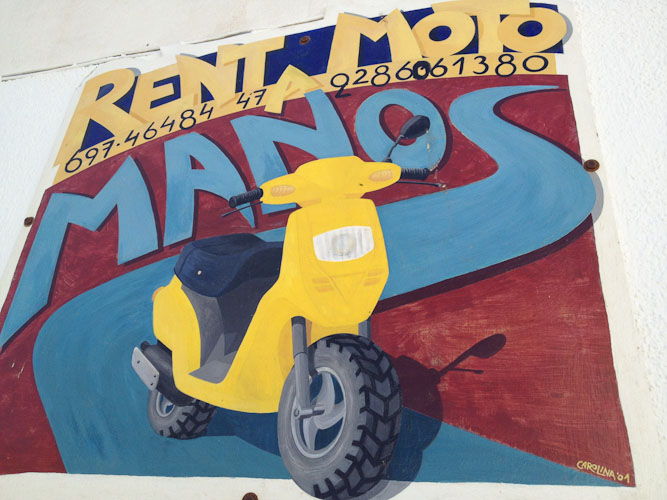 Manos Rent a Car - Moto