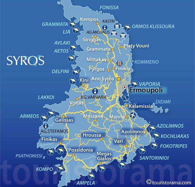 Car rental Hire Rent a car in Syros